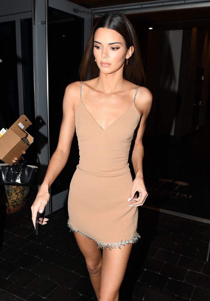 Kendall Jenner Shows Off Her Long Legs in a Mini Dress – Miami 12-06-2019