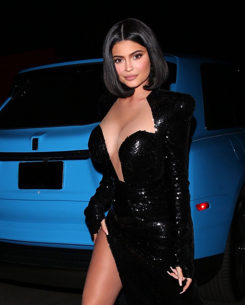Kylie Jenner – Heading to Party in Holmby Hills