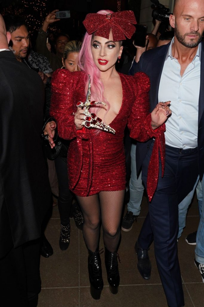Lady Gaga – Arrives at Her Haus Labs Makeup Pop Up Launch at The Grove 12-05-2019