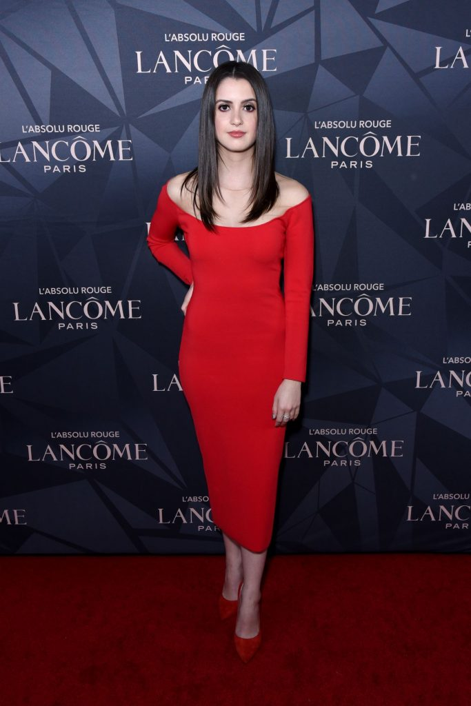 Laura Marano – Lancome x Vogue L'Absolu Ruby Holiday Event in West Hollywood