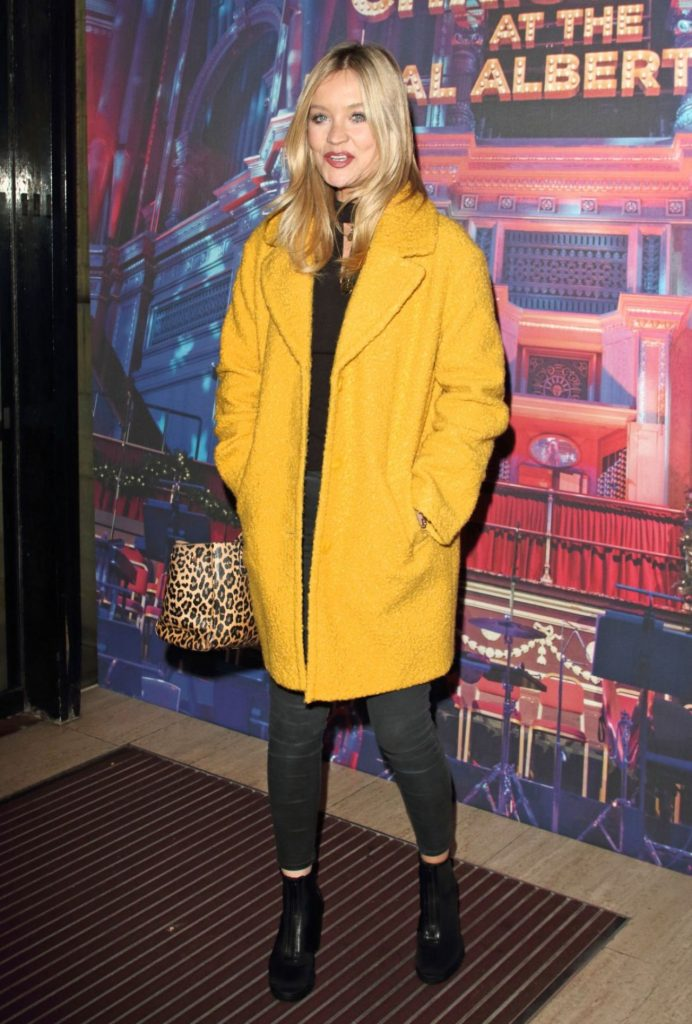 Laura Whitmore – Emma Bunton's Christmas Party in London 12-6-2019