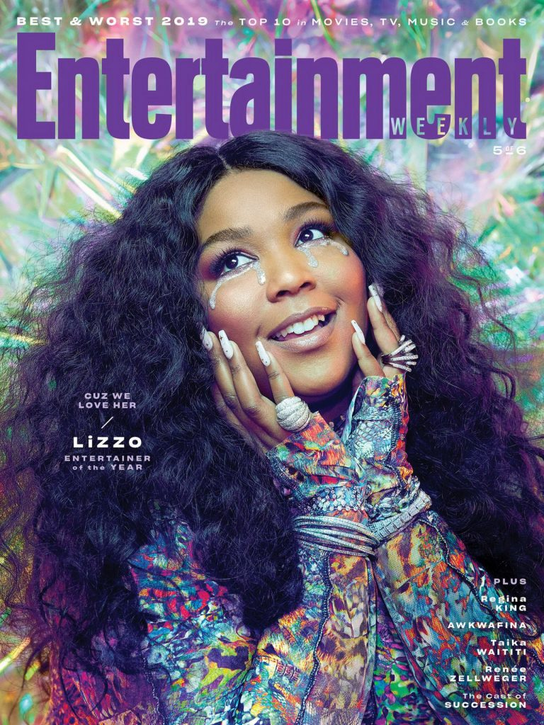 Lizzo – Entertainment Weekly December 2019 Cover and Pics