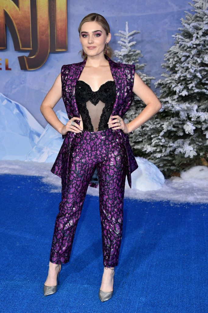 "Meg Donnelly – ""Jumanji- The Next Level"" Premiere in Hollywood"