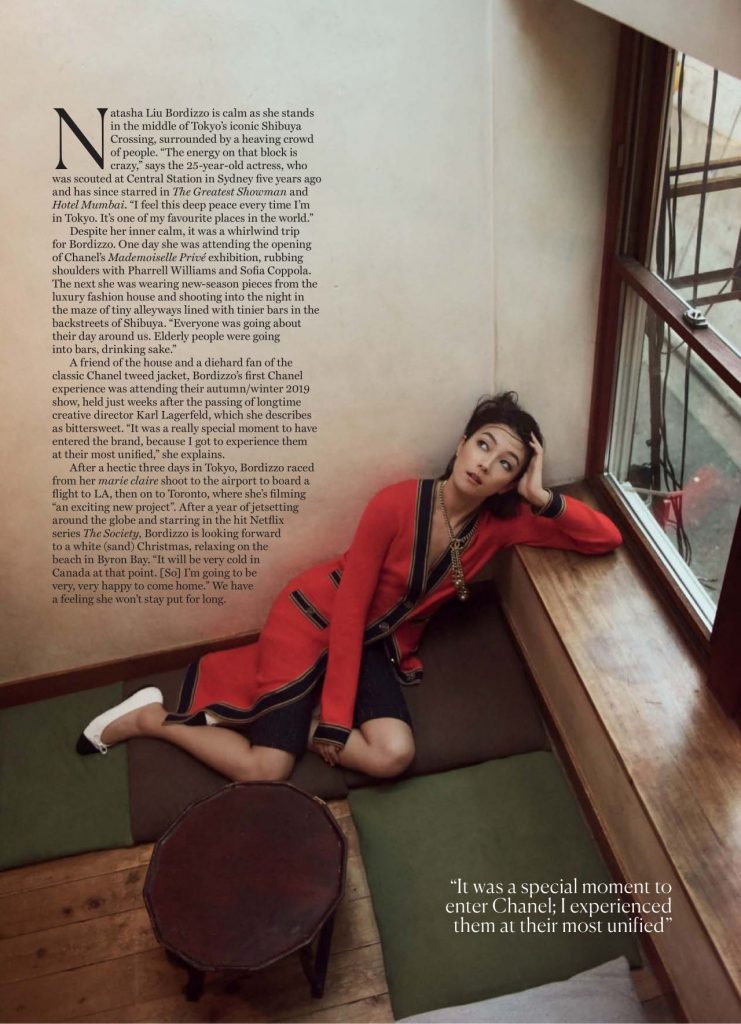 Natasha Liu Bordizzo – Marie Claire Australia January 2020 Issue