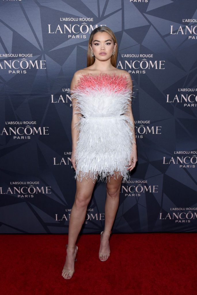 Paris Berelc – Lancome x Vogue L'Absolu Ruby Holiday Event in West Hollywood