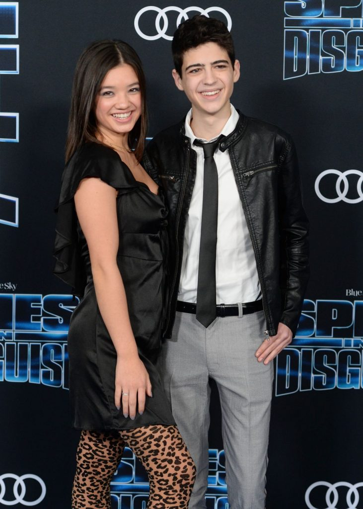 Peyton Elizabeth Lee – -Spies in Disguise- Premiere in Hollywood