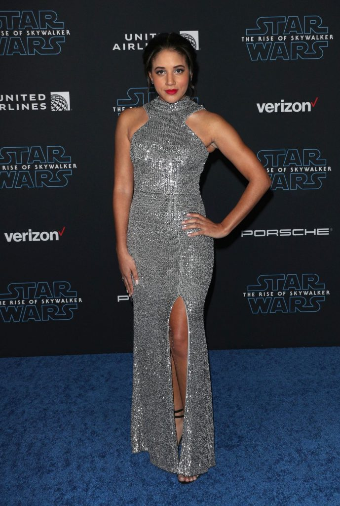 Star Wars The Rise Of Skywalker Premiere in LA: Philicia Saunders