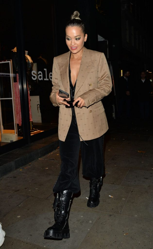 Rita Ora Night Out 12-07-2019