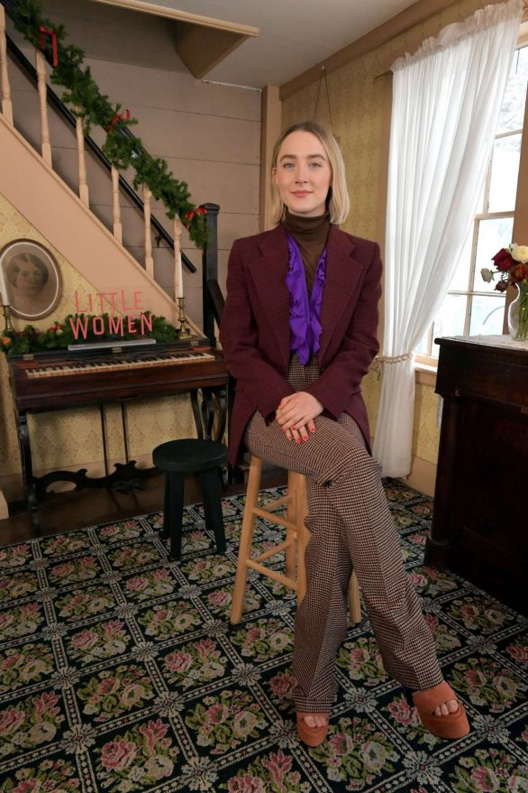 Saoirse Ronan – Little Women Photocall at the Louisa May Alcott-s House in Massachusetts