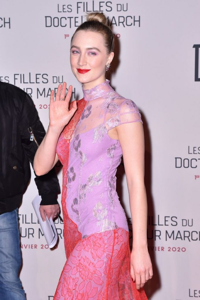 Saoirse Ronan Little Women Premiere in Paris 2019