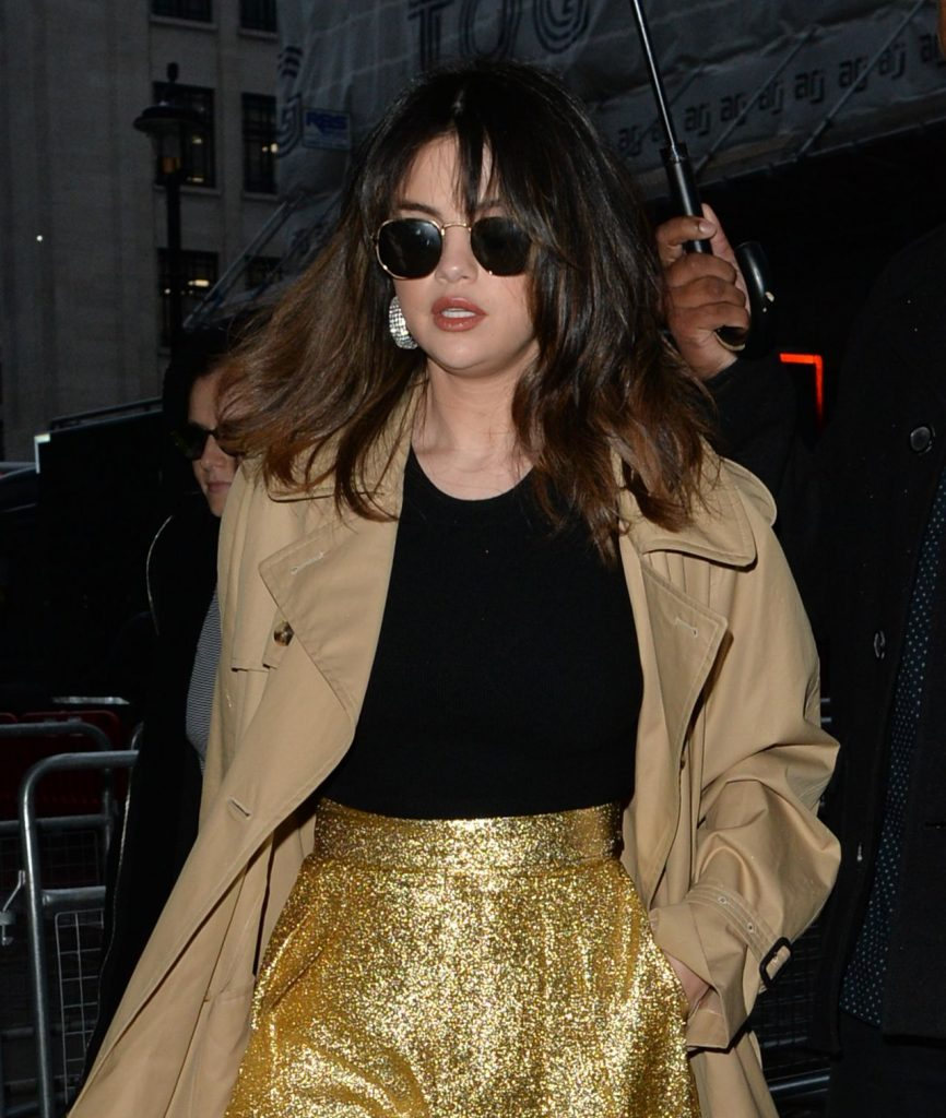 Selena Gomez – Leaving BBC Radio Studios in London