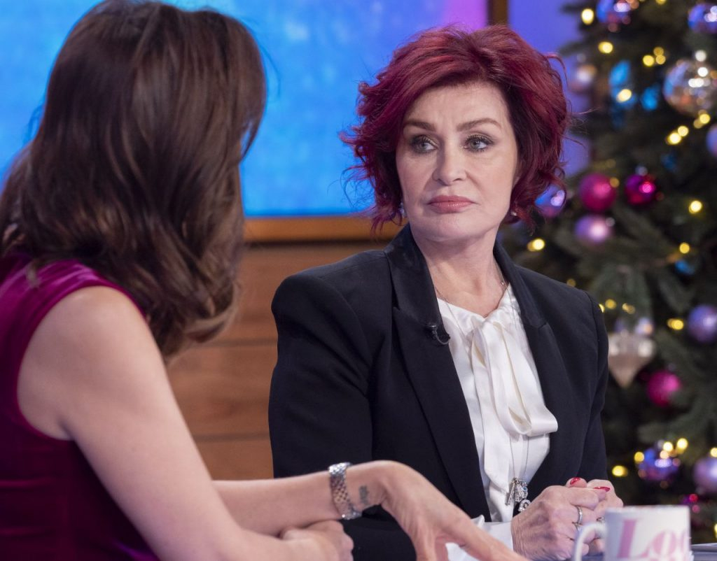 Loose Women TV Show in London: Sharon Osbourne 2019
