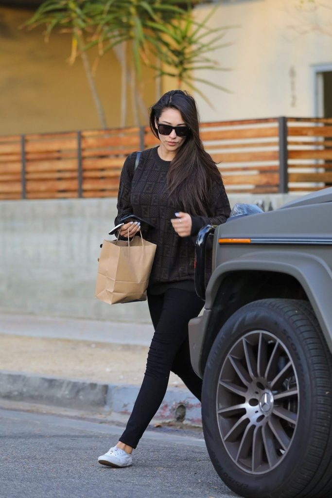 Shay Mitchell – Leaves a Beauty Salon in West Hollywood