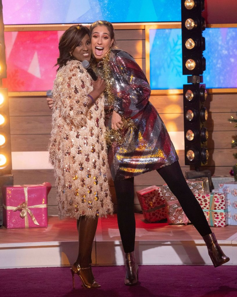 Loose Women TV Show in London: Stacey Solomon 10 Photos