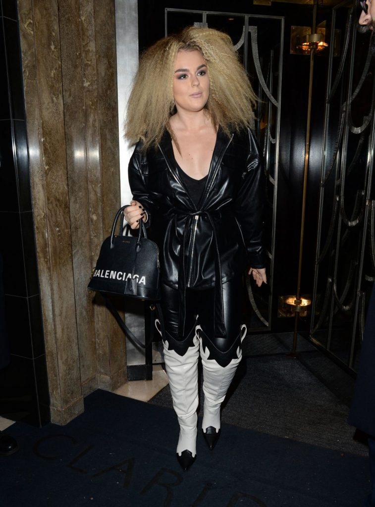 Tallia Storm – Leaving Claridges Hotel in London 12-06-2019