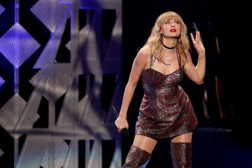 Taylor Swift Performs at Z100's iHeartRadio Jingle Ball in NYC