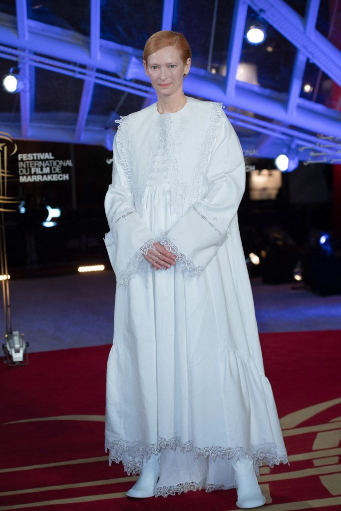 Tilda Swinton – Tribute to Australian Cinema at Marrakesh Film Festival 12-05-2019