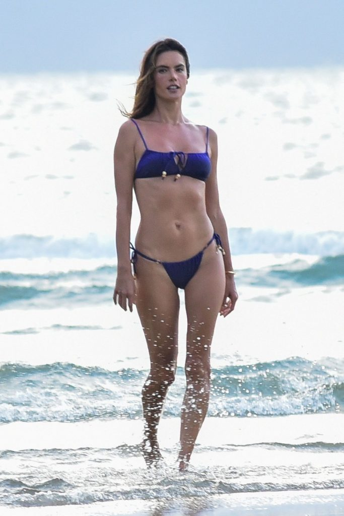 Alessandra Ambrosio in a Bikini January 2020 (7 Photos)
