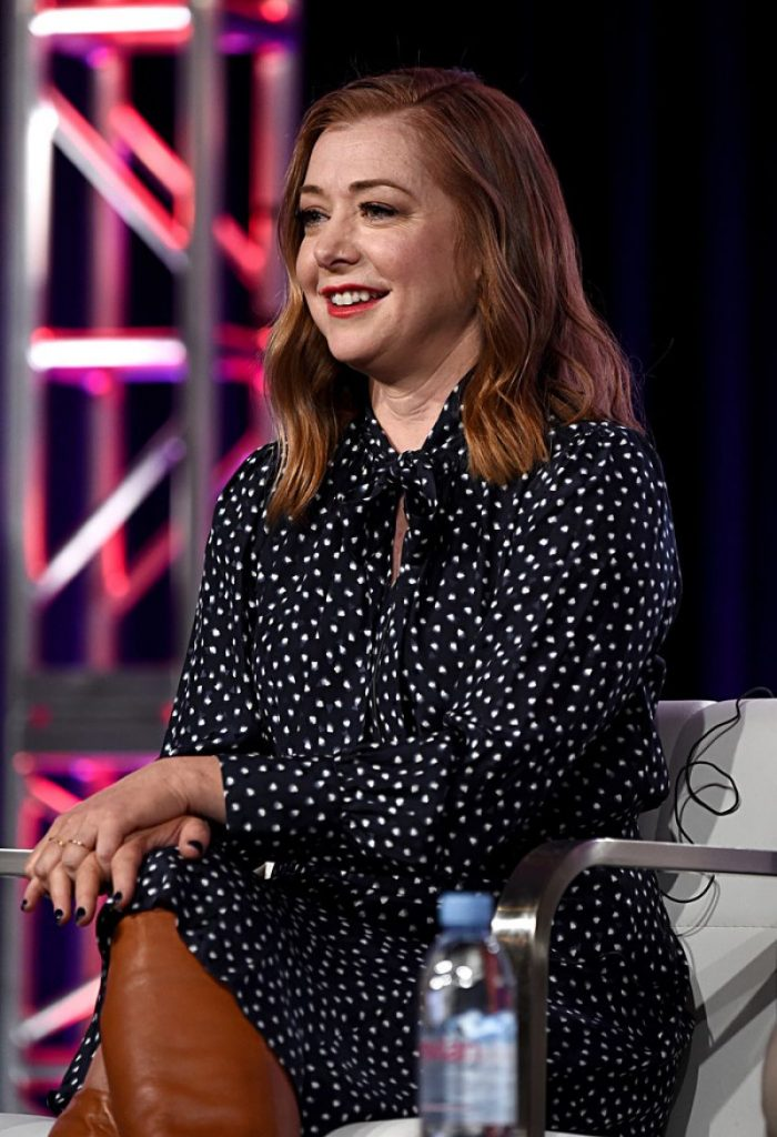 2020 Winter TCA Press Tour in Pasadena: Alyson Hannigan (9 Photos)
