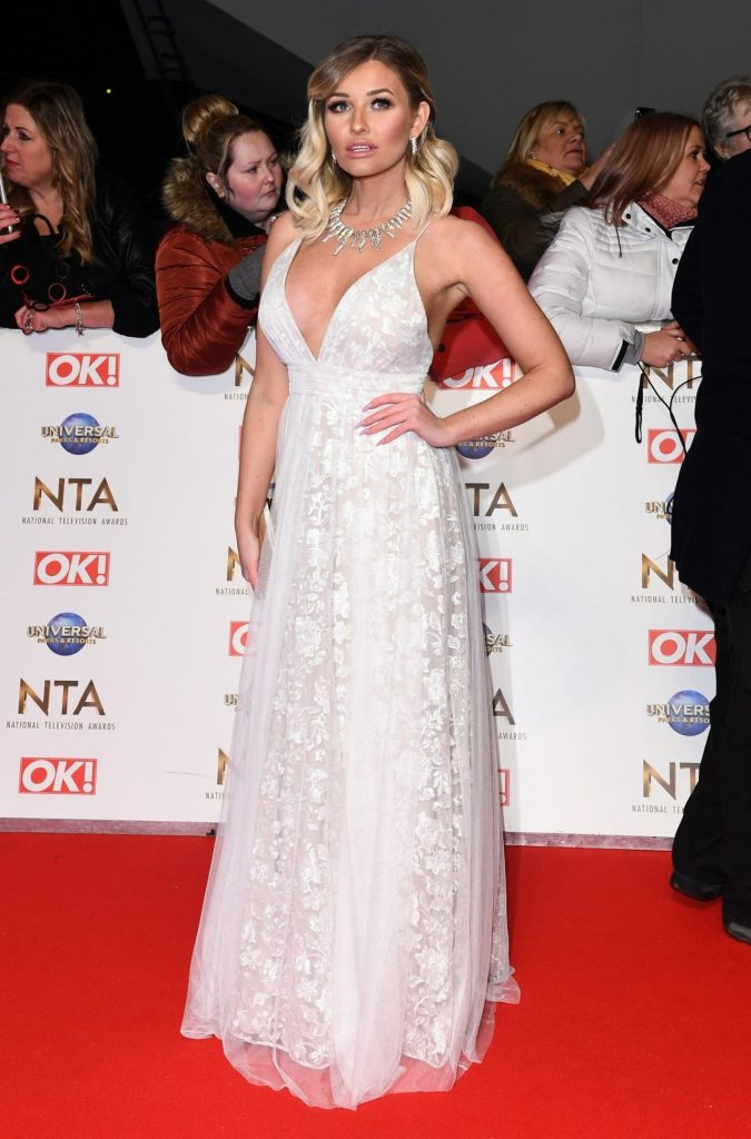 National Television Awards 2020 in London: Amy Hart (9 Photos)