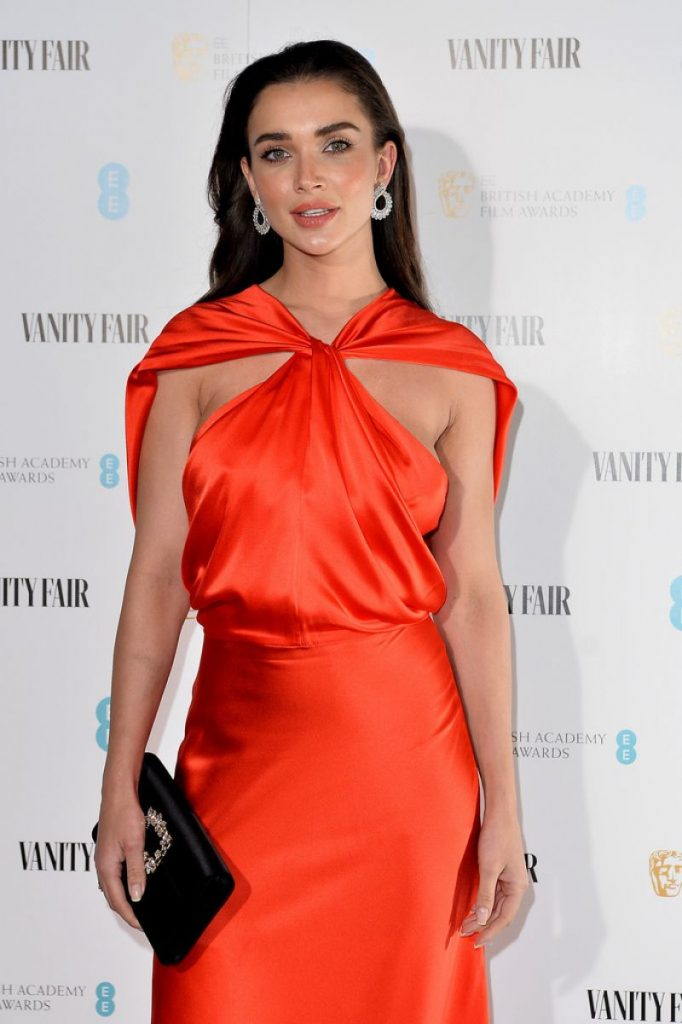 Amy Jackson – Vanity Fair EE Rising Star BAFTAs Pre Party in London 2020 (3 Photos)