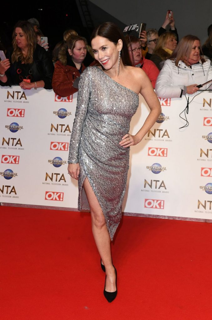 National Television Awards 2020 in London: Anna Friel (6 Photos