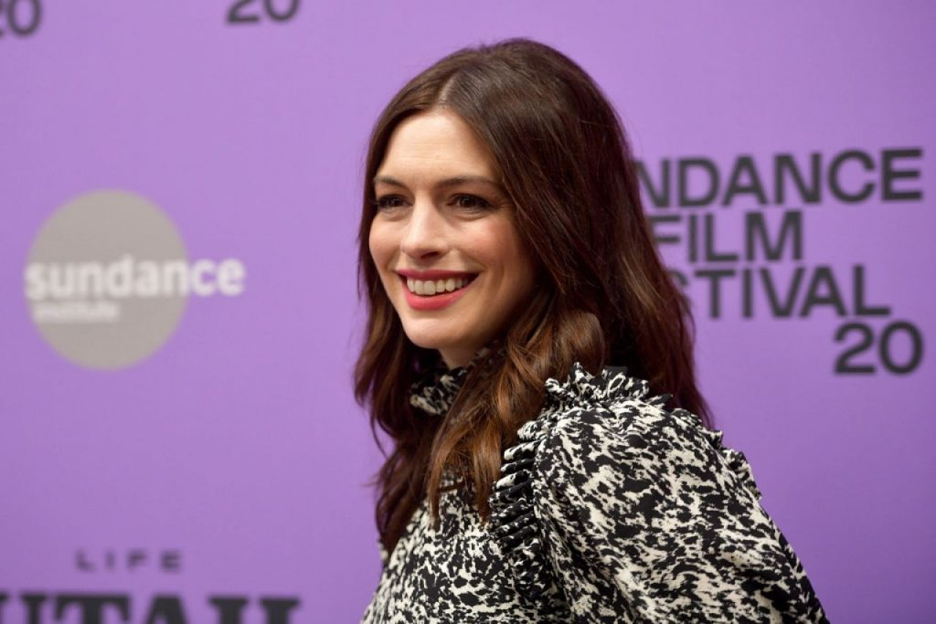 Anne Hathaway – The Last Thing He Wanted Premiere at Sundance Film Festival (6 Photos)