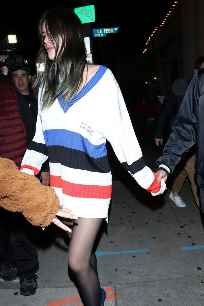 Bella Thorne – Outside Craig's in West Hollywood January 2020