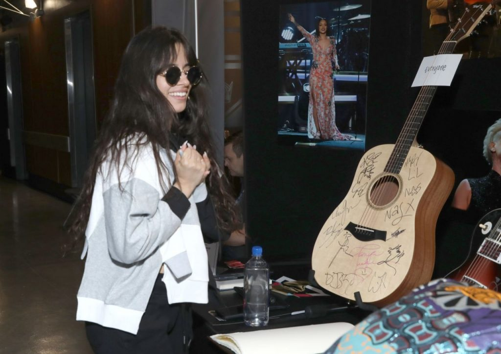 Camila Cabello – GRAMMY Charities Signings 2020