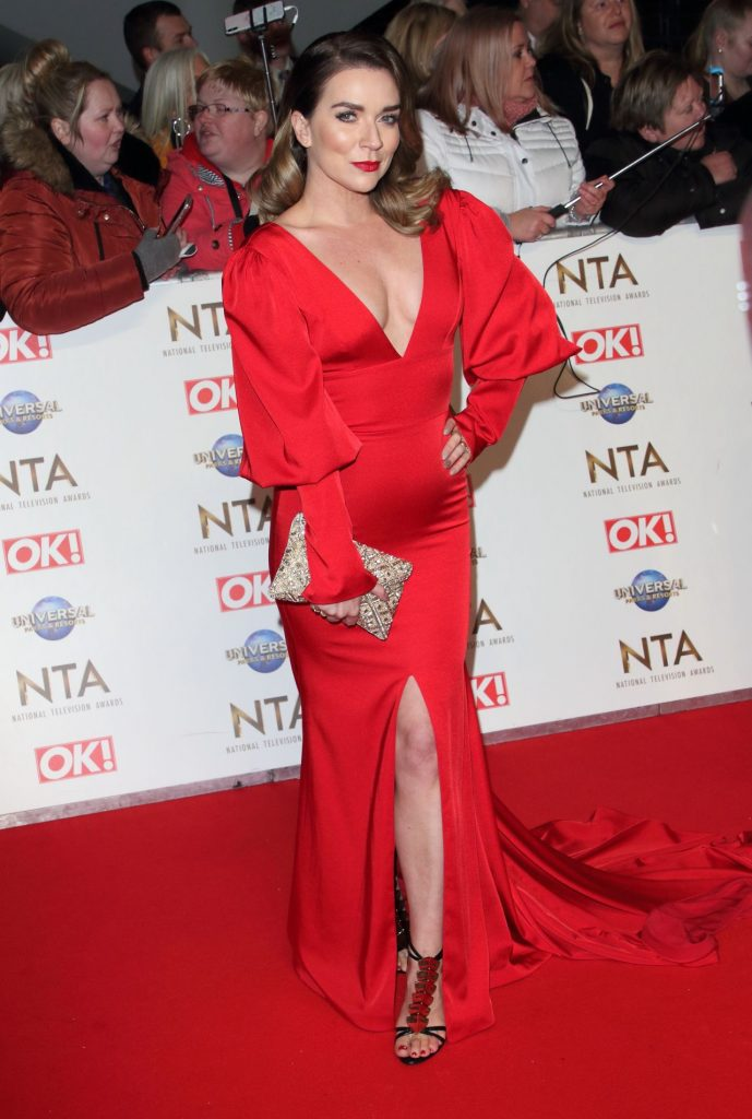 National Television Awards 2020 in London: Candice Brown (3 Photos)