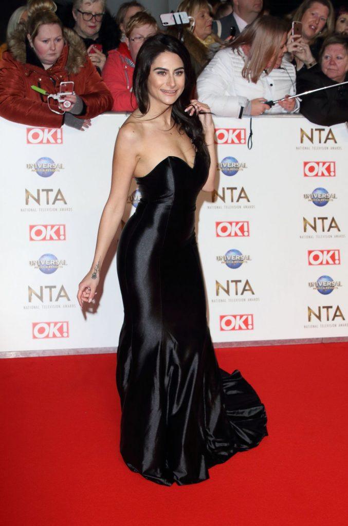 National Television Awards 2020 in London: Carina Lepore (3 Photos)