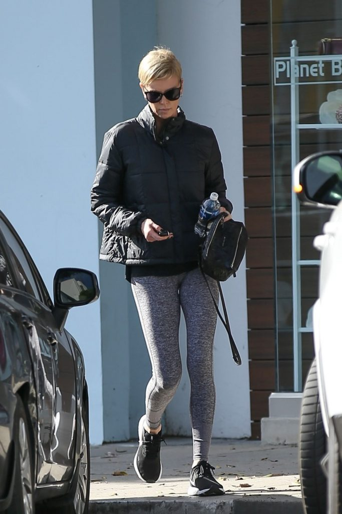 Charlize Theron – Shopping in Beverly Hills