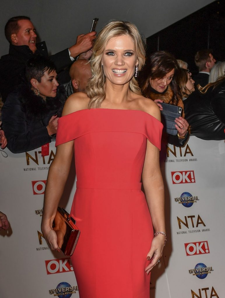 National Television Awards 2020 in London: Charlotte Hawkins (6 Photos)