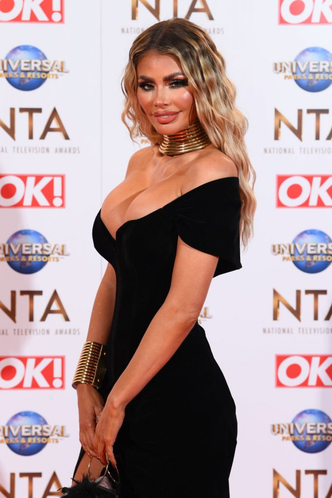 National Television Awards 2020 in London: Chloe Sims (10 Photos)