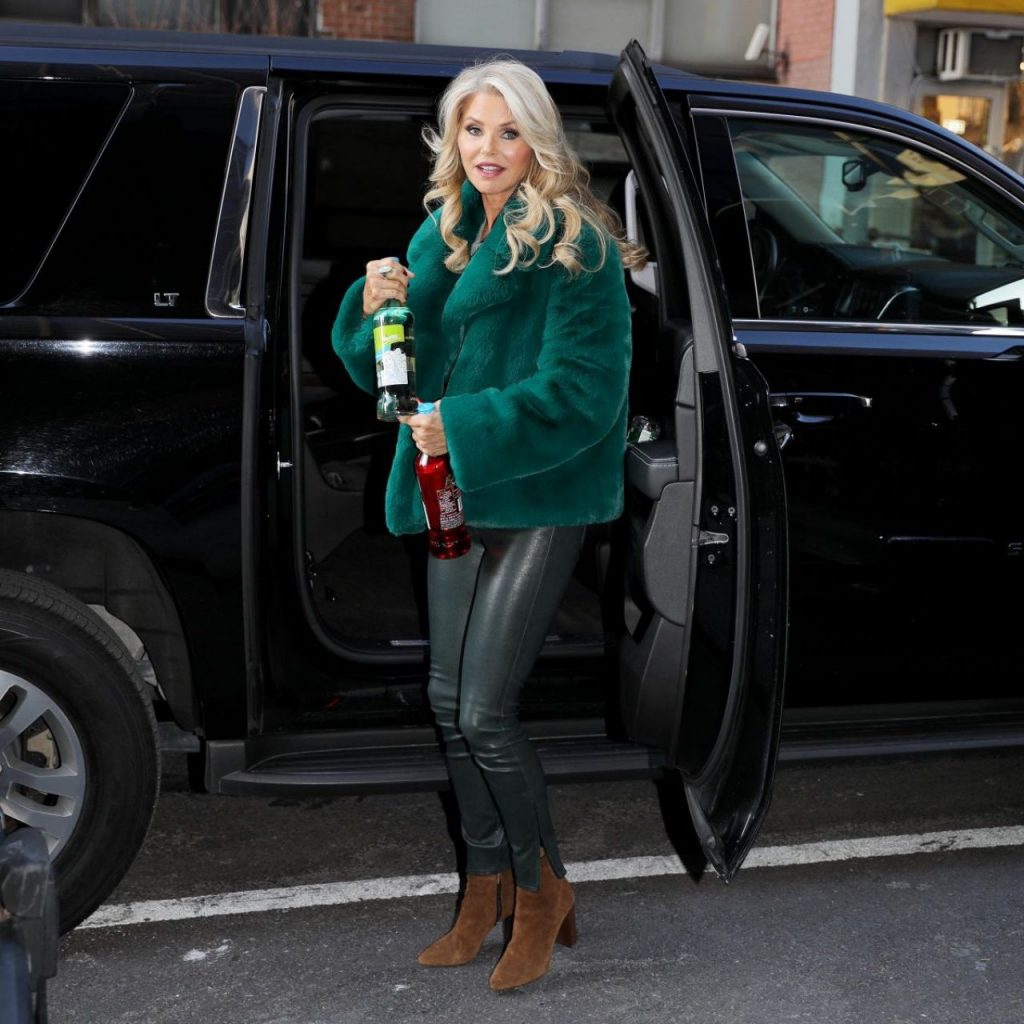 Christie Brinkley – Good Day NY in NYC 2020 (13 Photos)