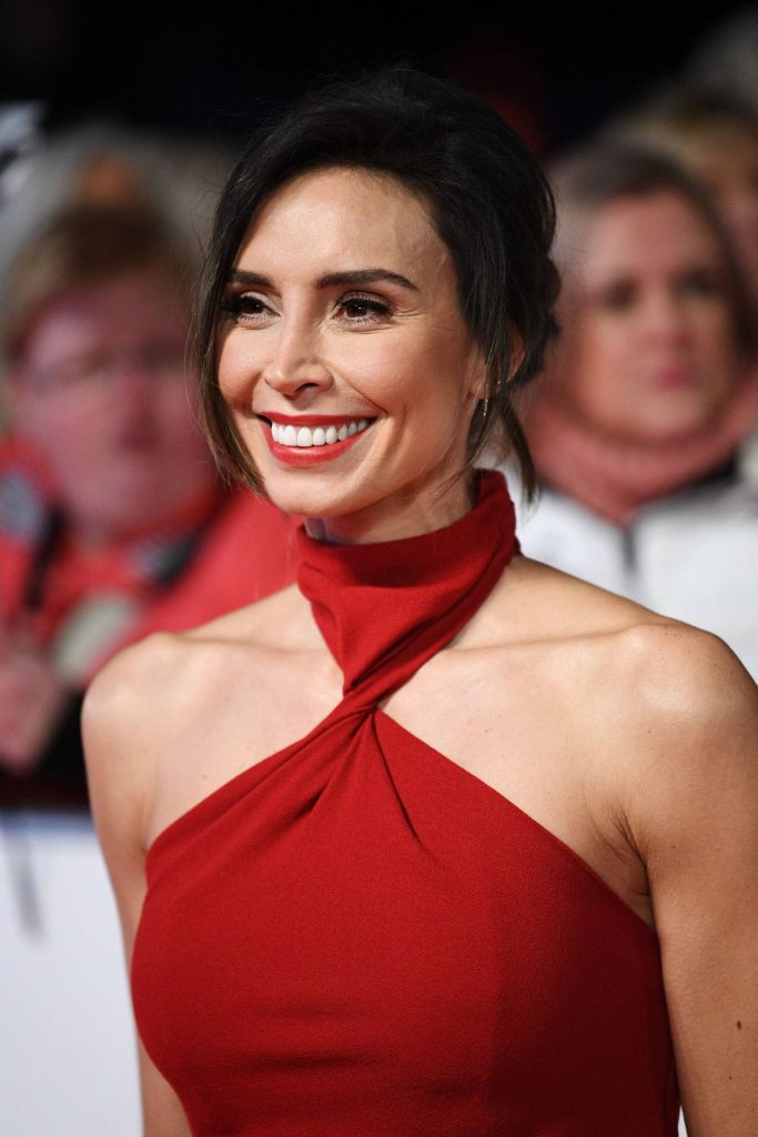 National Television Awards 2020 in London: Christine Lampard (4 Photos)
