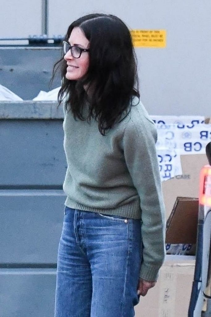Courteney Cox – at the Celine Store in LA January 2020 (7 Photos)