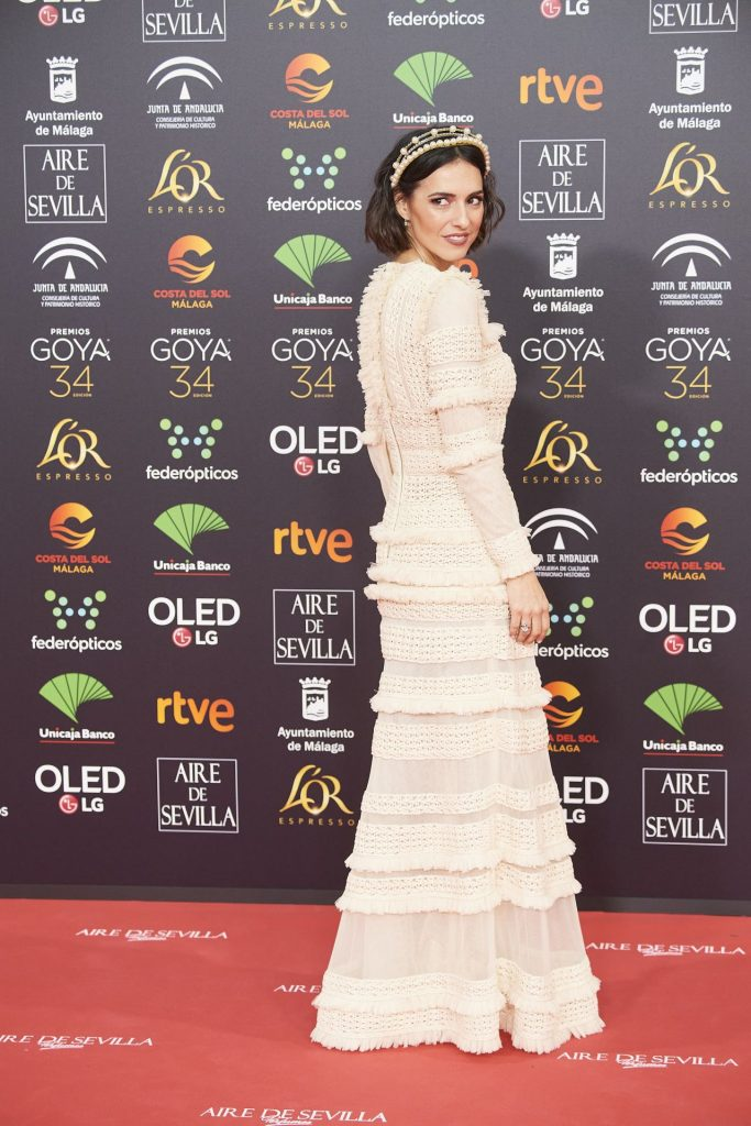 Goya Cinema Awards 2020 in Madrid: Cristina Brondo (7 Photos)