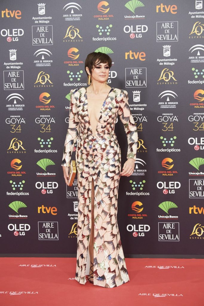 Goya Cinema Awards 2020 in Madrid: Cuca Escribano (7 Photos)