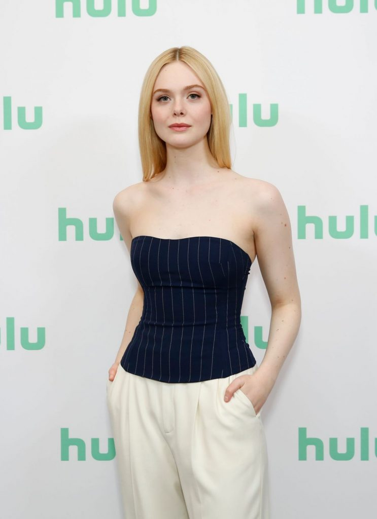 Elle Fanning – Hulu Panel at Winter TCA in Pasadena January 2020 (10+ Photos)