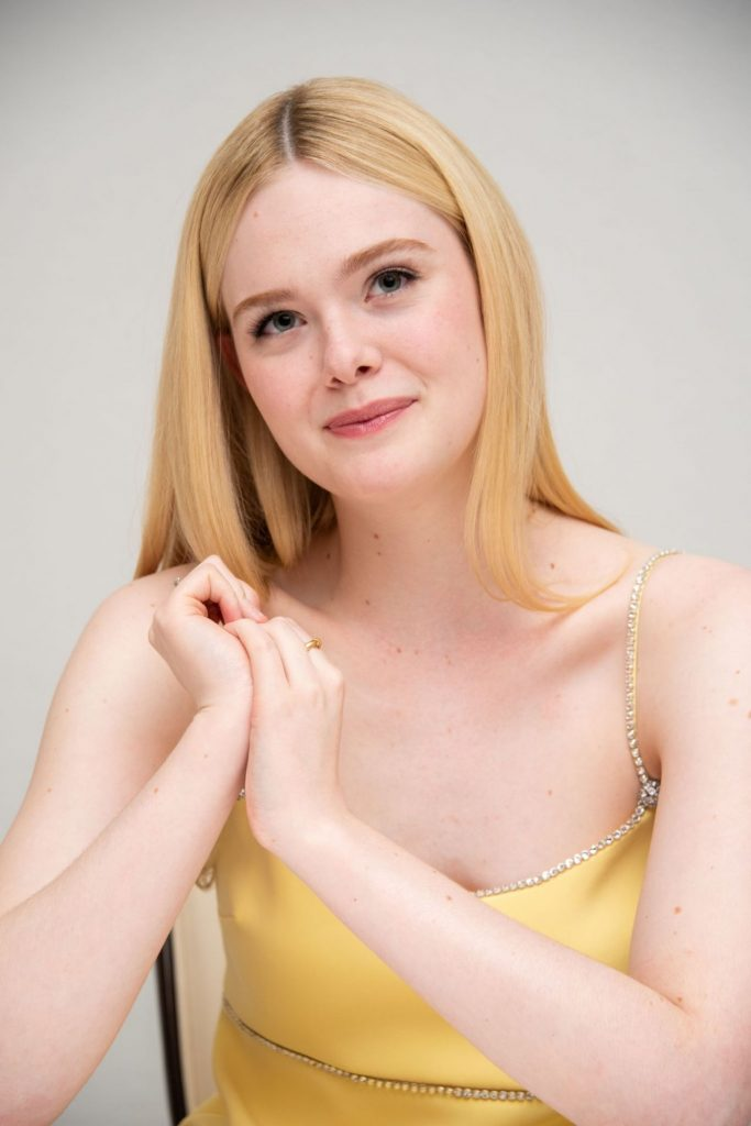Elle Fanning – The Great- Press Conference in Beverly Hills January 2020 (13 Photos)