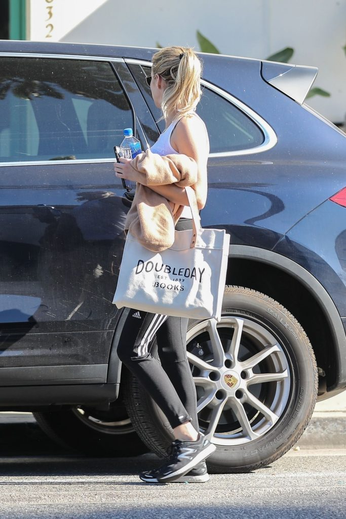Emma Roberts – Leaving a Gym in West Hollywood January 2020