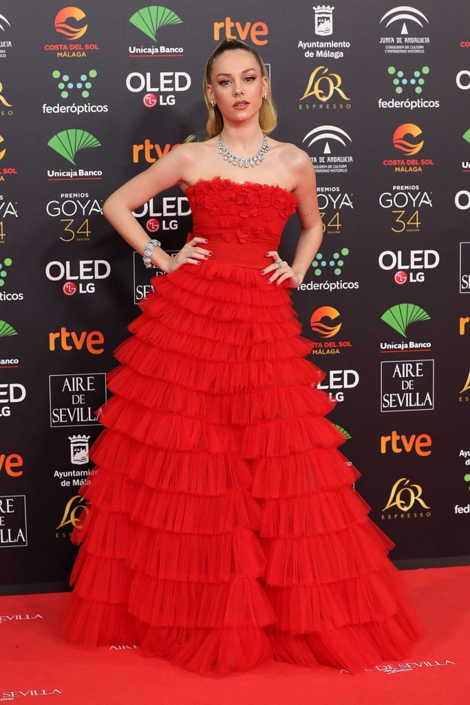 Goya Cinema Awards 2020 in Madrid: Ester Exposito (9 Photos)
