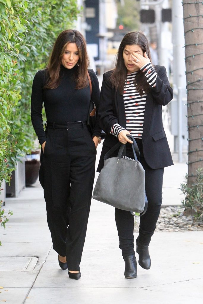 Eva Longoria and America Ferrera – E Baldi in Los Angeles January 2020