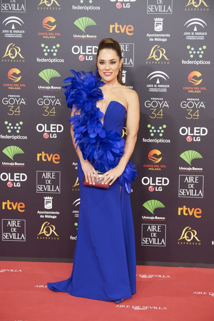Goya Cinema Awards 2020 in Madrid: Eva Maciel (7 Photos)
