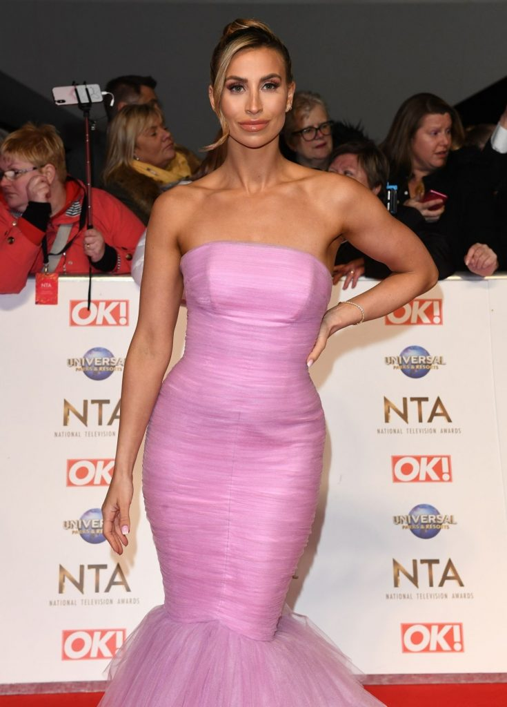 National Television Awards 2020 in London: Ferne McCann (7 Photos)