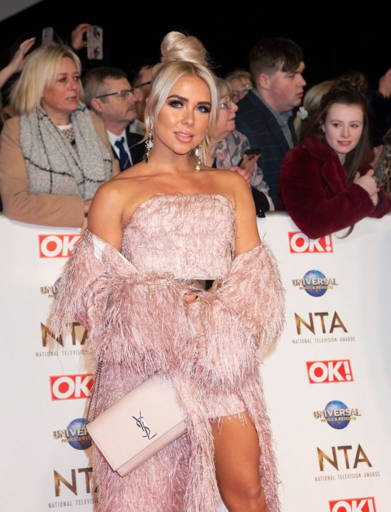 National Television Awards 2020 in London: Gabrielle Allen (6 Photos)