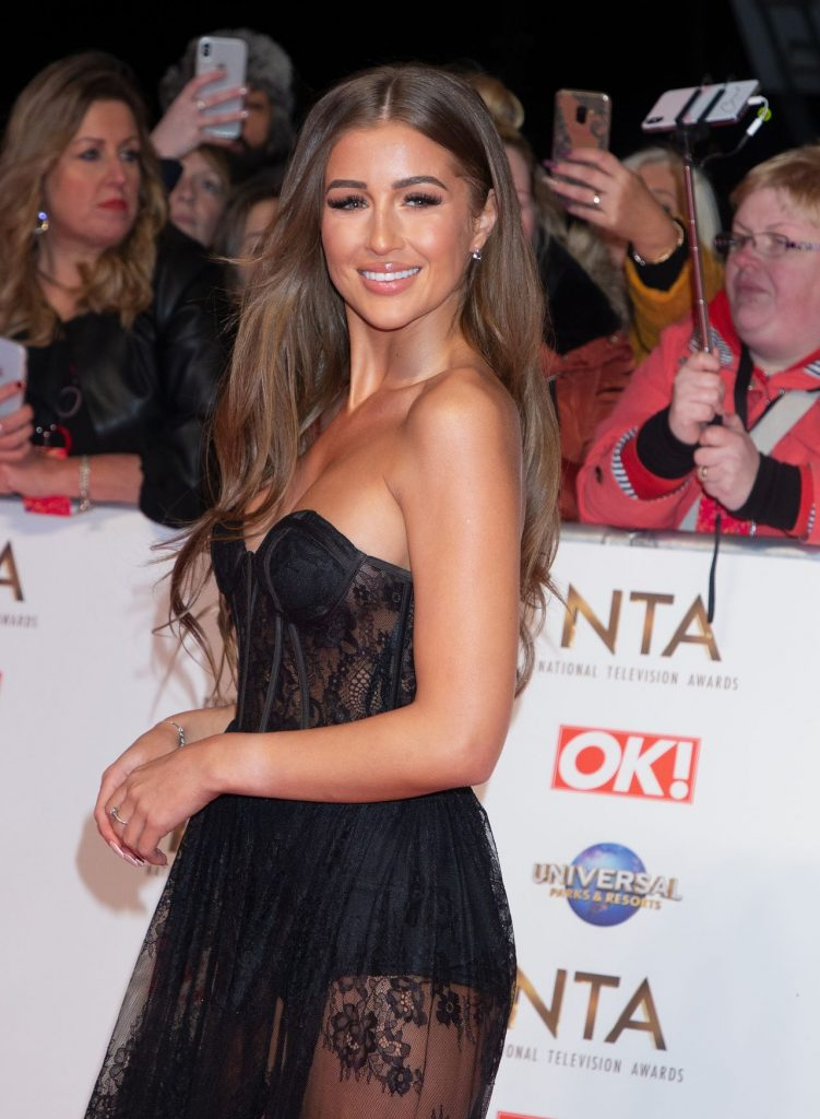 National Television Awards 2020 in London: Georgia Steel (13 Photos)