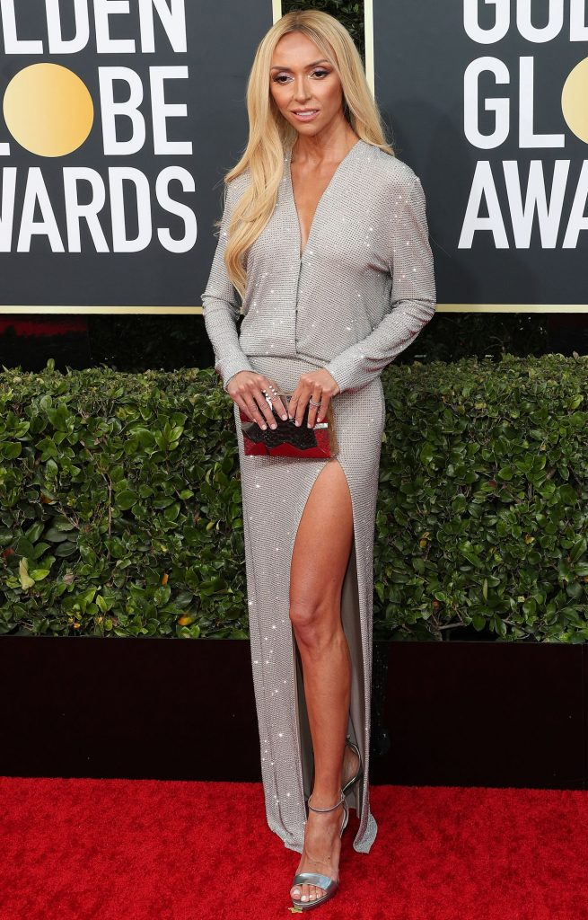 2020 Golden Globe Awards: Giuliana Rancic (10 Photos)