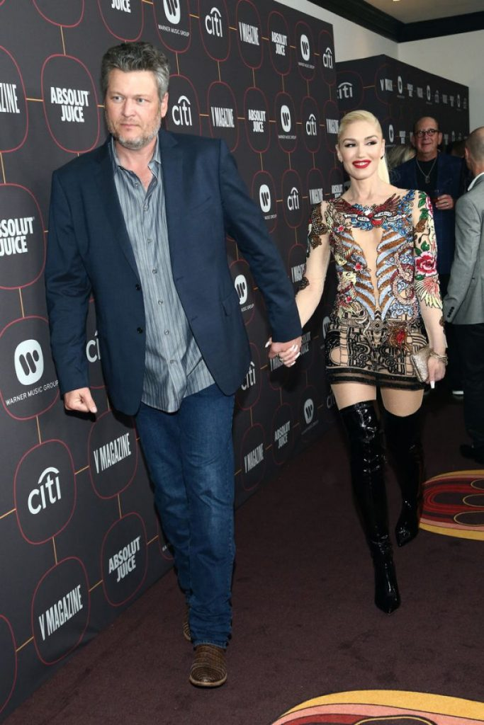 Warner Music Group Pre Grammy Party in Hollywood 2020: Gwen Stefani (4 Photos)